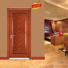 Projeto popular mogno porta de madeira maciça E-S020
