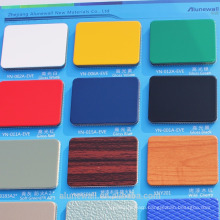 sample free PVDF/FEVE/PE Coating Aluminium Composite Panel Advanced Construction Materials