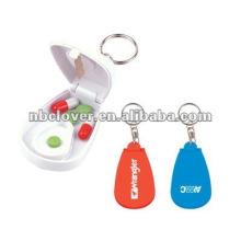 Niedliche Pillenboxen mit Schlüsselanhänger