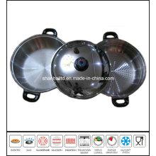 Big Stainless Steel Steamer Pot Set