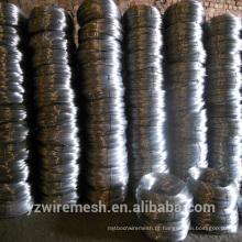 Lista de preços de fio de ferro galvanizado de baixo preço desejada pelos índios