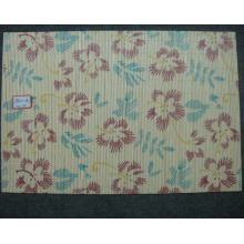(BC-M1033) Handmade Natural Bamboo Rectangle Heat Insulation Placemat