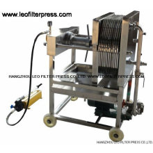 New design for Stainless steel plate and frame filter press