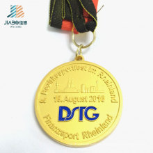 3D Rhineland Good Quality Custom Gold Sport Medal for Promotion