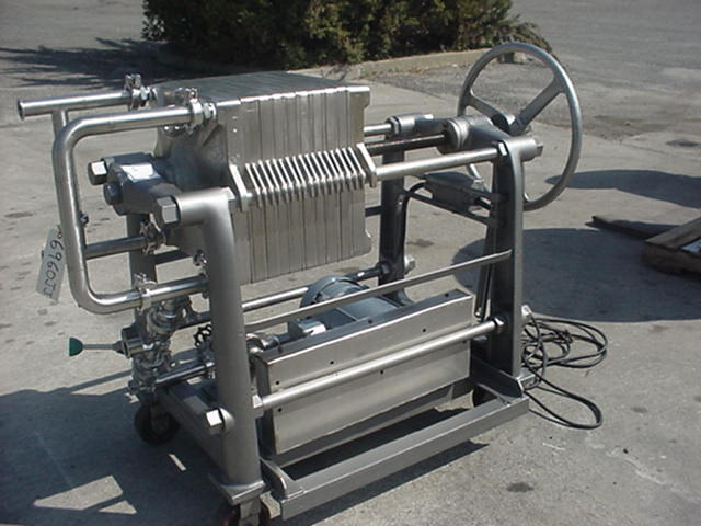 chemical industry Cast Iron Filter Press