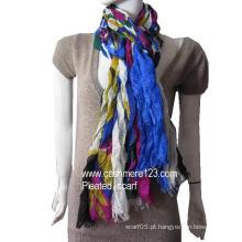 Lã moda impresso xale (IMG0577)