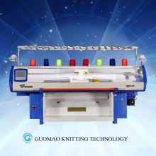 jacquard weave automatic computer flat knitting machine