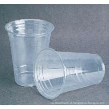 Copo plástico do copo do copo frio