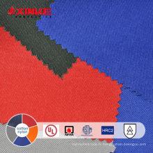 Tissu ininflammable en coton et nylon pour vêtements de travail