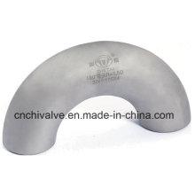 Codo sin costura del tubo del acero inoxidable de Ss 180 grados