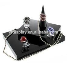 Affichage acrylique de haute qualité de bijoux