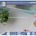 Paravent utilisé utilisé feuille de plexiglas dépoli clair