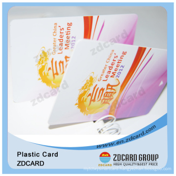 Plastic PVC ID Card with Hologram Sticker
