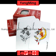 100% Plastic Poker Playing Cards Japan Import (YM-PC08)