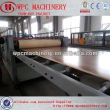 PVC WPC Skinning Schaum Bord Maschine PVC kostenlos Schaum Bord Extrusion Maschine