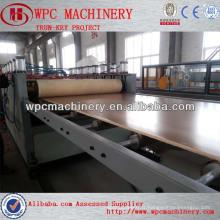 PVC WPC skinboard mousse panneau machine pvc sans mousse plaque extrudeuse