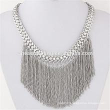 bright bohemian tassel pendant bead beaded fringe turkish ethnic necklace