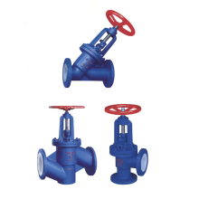 YD41F PTFE Lining Fluorine Lined Stop Valve