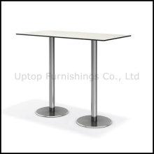 Table à barres longues compactes à deux jambes pour 4-6 personnes (SP-BT673)