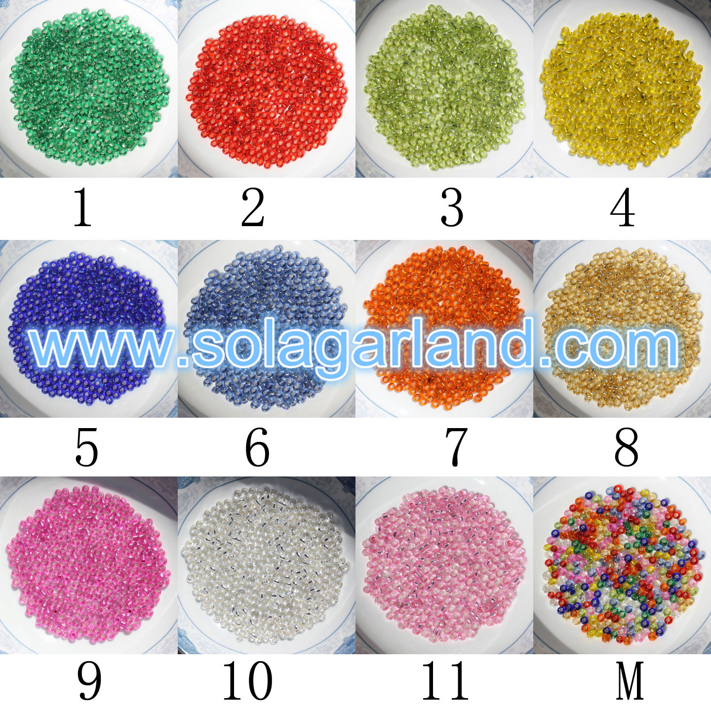 11/0 Cheap Glass Beads