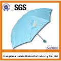Großhandelsfalten-glücklicher Regenschirm für Sun-Reflexions-großen Markt