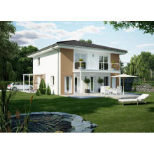 Steel Frame Fiber Cement House