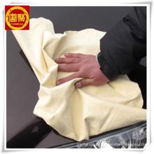 Toalha de microfibra com algodão, toalha de microfibra de camurça com fácil de lavar