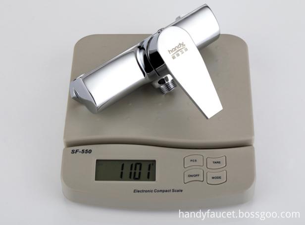 exposed shower valve weight