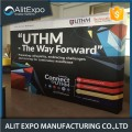 Exhibición de aluminio modular pop-up display stand banner