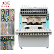 China for PVC Cup Coaster Dispensing Machine Plastic PVC Shoes Insole Extruder Machine export to France Manufacturer