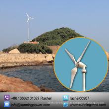 Énergie éolienne de 5000W d'énergie renouvelable pour l'alimentation d'énergie de grille et outre de grille