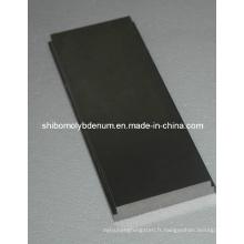 Plaques de tungstène de grande pureté pour four à vide