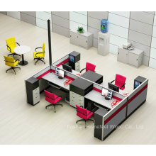 Nova estação de trabalho do escritório de design moderna com gabinete de arquivamento (HF-YZQ790)