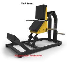 Placa de força de martelo carregada Hack Squat Machine