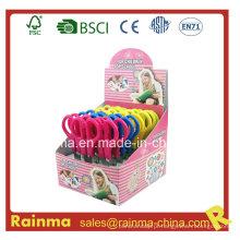 Student Scissor 5 '' em embalagem de caixa de exibição