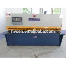 Cisaille hydraulique à panneaux pendulaires / qc12y-4 * 3200 coupe-cisaillement en tôle