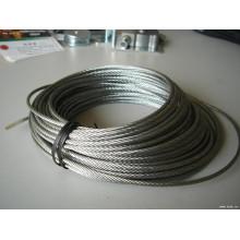 Steel Wire Rop 6mm 6X19+FC Galvanised