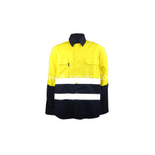 Reflective workwear suit