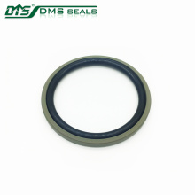 bronze PTFE bidirectional seal glyd ring for hydraulic cylinder sealing DPT