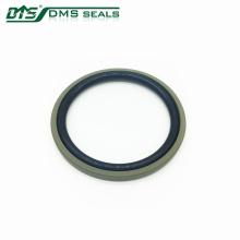 anel de bronze do selo bidirecional de bronze de PTFE para o DPT de selagem do cilindro hidráulico