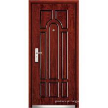 Portas de frente de madeira de aço (WX-SW-103)