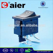 Interrupteur à bascule électrique avec 4 pièces d'angle