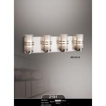 Hot Selling Modern Glass Chrome Practical Home Hotel Wall Lamp (W2191-4)
