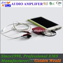 amplificador de potência amplificador de auscultadores amplificador de bateria recarregável