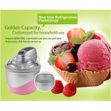 Máquina pequena do fabricante do gelado para o repouso