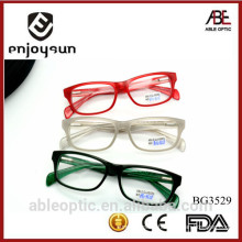 2015 hotselling Colored students acetate hand made spectacles optical frames eyewear eyeglasses