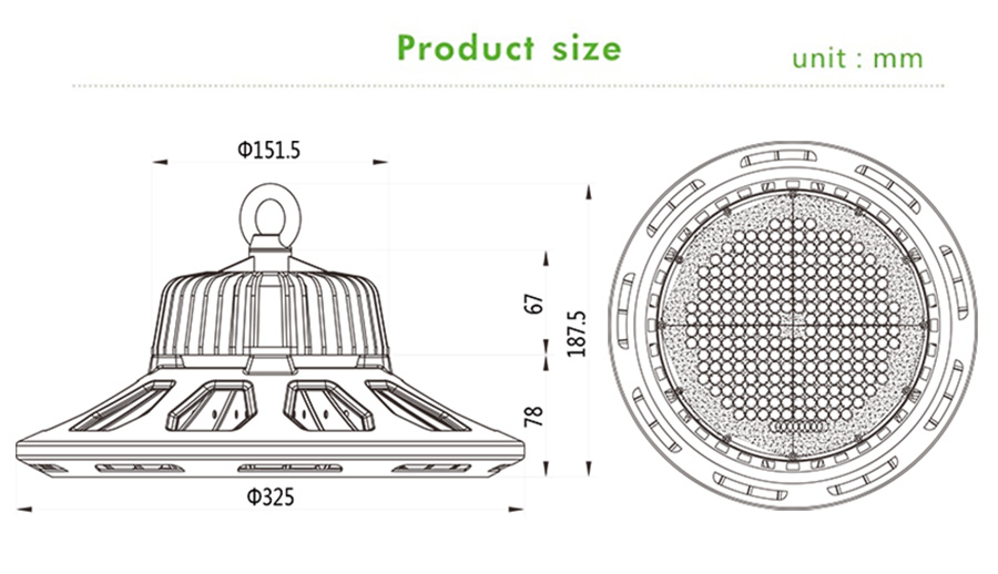 Industrial LED High Bay Lights