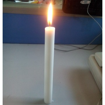 Zuivere witte wax taper stick candle velas bougies