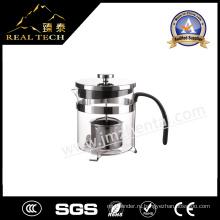 Дешевая цена Боросиликатный стеклянный чайник с фильтром
