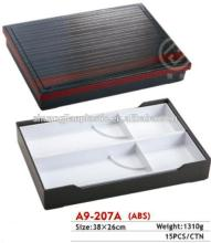 A9-207A ABS Plastic Type and Food Use Bento Box